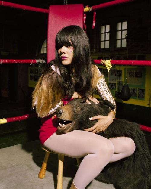 Photo courtesy of Bat For Lashes official myspace page